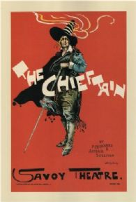 Vintage English poster - The Chieftan